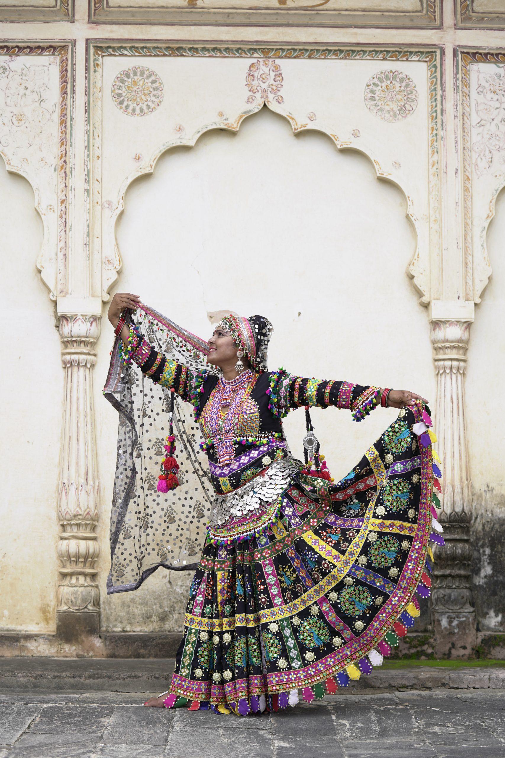 Suadevi Kalbeliya dance teacher